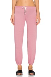 Nation Ltd. Medora Capri Sweatpant Red