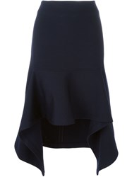 Marni Handkerchief Hem Skirt Blue