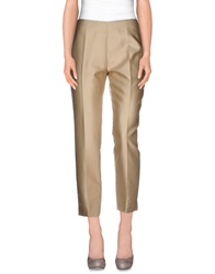 Clips Casual Pants Sand