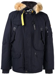 Parajumpers 'Right Hand Man Masterpiece' Coat Blue