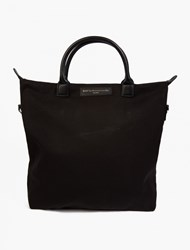 Want Les Essentiels Black Organic Cotton O'hare' Tote Bag