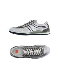Boss Orange Footwear Low Tops And Trainers Men Silver