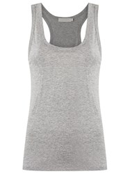 Giuliana Romanno Scoop Neck Tank Top Grey