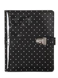 Dolce And Gabbana Polka Dot Patent Leather Tablet Case