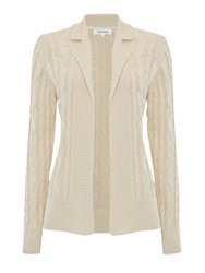 Tulchan Collared Cable Jacket Cream