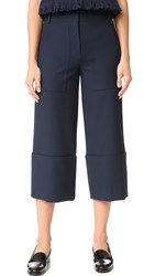 Tibi Cargo Nerd Pants Midnight Navy