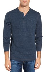 Faherty Men's Double Knit Henley