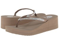 Yellow Box Custard Rich Taupe Women's Sandals Gray