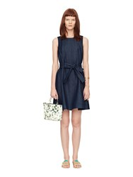 Kate Spade Denim Fit And Flare Dress