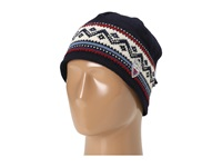 Dale Of Norway Vail Hat C Navy Red Rose Off White Indigo Knit Hats Multi