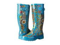 The Sak Rhythm Teal Spirit Desert Women's Rain Boots Blue