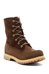 Timberland Authentic Teddy Fleece Lined Boot Brown
