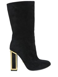 Kat Maconie 100Mm Suede Pull On Boots