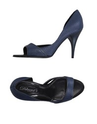 Dibrera By Paolo Zanoli Footwear Sandals Women Blue