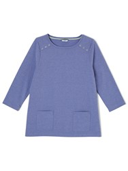 Dash Jersey Patch Pocket Top Multi Coloured