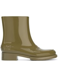 N 21 No21 Rubber Ankle Boots Green