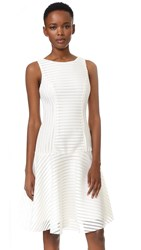 Black Halo Vogue Dress Ivory