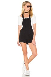 Rvca Hold It Romper Faded Black