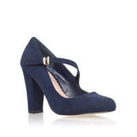 Carvela Karol High Heel Court Shoes Navy
