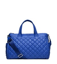 Michael Michael Kors Roberts Large Quilted Nylon Yoga Duffel Bag