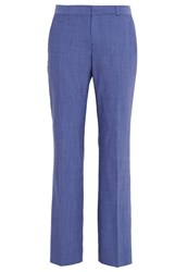 Banana Republic Logan Trousers Chambray Blue