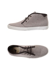 Pointer High Tops And Trainers Dove Grey
