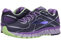 Brooks Adrenaline Gts 16 Passion Flower Lavender Paradise Green Women's Running Shoes Blue