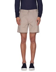 Just Cavalli Trousers Bermuda Shorts Men Light Brown