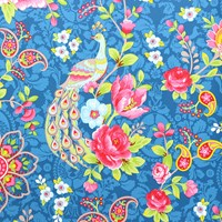 Pip Studio Flowers In The Mix Wallpaper 313054 Dark Blue