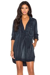 Bella Dahl Studio Shirt Dress Black