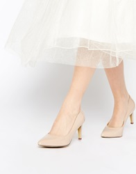 Truffle Collection Tegan Point Court Shoes Nudepatent