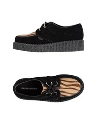 Underground Footwear Lace Up Shoes Women