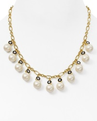 Kate Spade New York Faux Pearl Statement Necklace 16 Gold