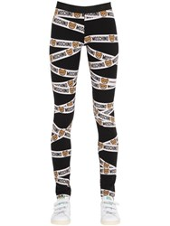 Moschino Underbear Cotton Jersey Leggings