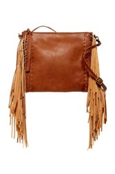 Carlos By Carlos Santana Felice Fringe Crossbody Brown