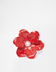 Asos Sweet Flower Hair And Body Brooches Pink