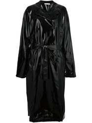 Alyx Varnished Raincoat Black