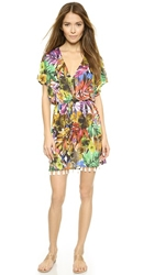 Milly Tropical Print Cover Up Multi