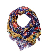 Desigual Lacroix Yellow Scarves
