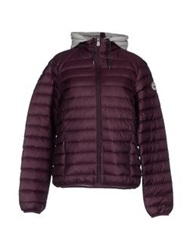 J.O.T.T Just Over The Top Down Jackets Deep Purple