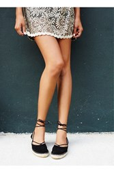 Fp Collection Marina Lace Up Espadrille