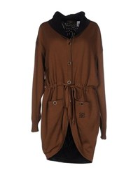 Fendi Knitwear Cardigans Women Brown