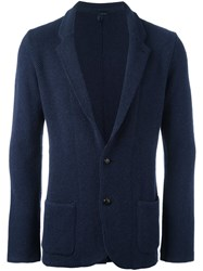 Lardini Two Button Blazer Blue