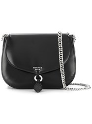 Rochas 'Saint Sulpice' Shoulder Bag Black
