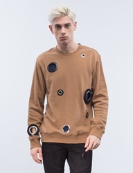 General Idea Cut Out Rings Sweatshirt