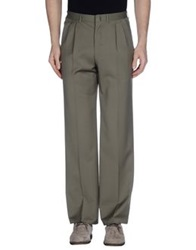 Brioni Casual Pants Military Green