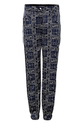 Ostwald Helgason Pixel Denim Detailed Pants