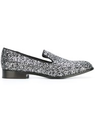 Marc Jacobs Glitter Loafers Metallic