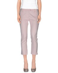 Armani Jeans Trousers 3 4 Length Trousers Women Light Pink
