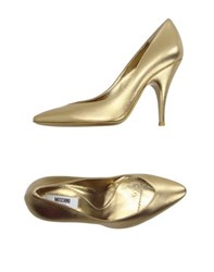 Moschino Footwear Courts Women Gold
